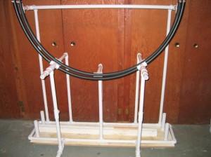 Double swing arc