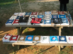 Wide array of horseshoes