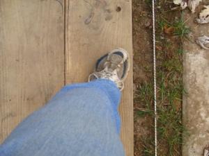 Left Foot Stride